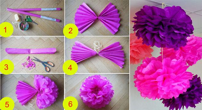 svoi3 Как сделать шар из бумаги — схема своими руками 6 способов